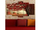 Viieosaline seinapilt Tree 100x60 cm ED-116608