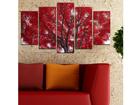 Viieosaline seinapilt Tree III, 100x60 cm ED-116613