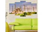Viieosaline seinapilt Mosque 100x60 cm ED-116684