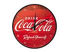 Retro seinakell Coca-Cola logo SG-116760