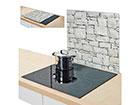 Pritsmekaitse/pliidiplaadikate Stone 56x50 cm GB-117432
