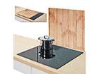 Pritsmekaitse/pliidiplaadikate Wood 56x50 cm GB-117433