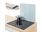 Pritsmekaitse/pliidiplaadikate Granit 56x50 cm GB-117434