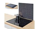 Pritsmekaitse/pliidiplaadikate Granit 56x50 cm GB-117435