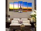 Viieosaline seinapilt Eiffel Tower I 160x80 cm ED-117469