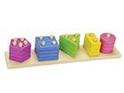 Värvide ja kujundite sorteerimismäng PU-117725
