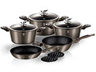 Kööginõude komplekt Carbon Metallic R2-118102