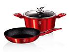 Kööginõude komplekt Burgundy Metallic R2-118213