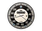 Retro seinakell BMW spidomeeter SG-118300
