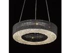 Rippvalgusti Carlo Black Ø60 cm LED A5-118359