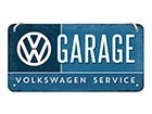 Retro metallposter VW Garage 10x20 cm