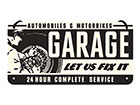 Retro metallposter Garage 10x20 cm SG-118407