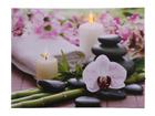 LED pilt Candles & Orchids