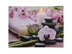 LED pilt Candles & Orchids 50x70 cm ED-118512