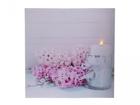 LED pilt Hyacinths 40x40 cm ED-118513