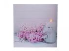 LED pilt Hyacinths 58x58 cm ED-118514