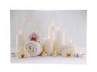 LED pilt Candles & Towels