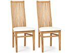 Tammepuidust toolid Sandra, 2 tk EC-119668