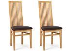 Tammepuidust toolid Sandra, 2 tk EC-119673