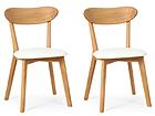 Tammepuidust toolid Irma, 2 tk EC-119677