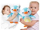 Heli ja valgusega pingviin KL-120200