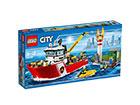LEGO City Tuletõrjepaat RO-121503