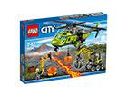 Vulkaani varustuskopter LEGO City RO-121507