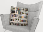 Dekoratiivpadjapüür Books 40x60 cm ED-122057