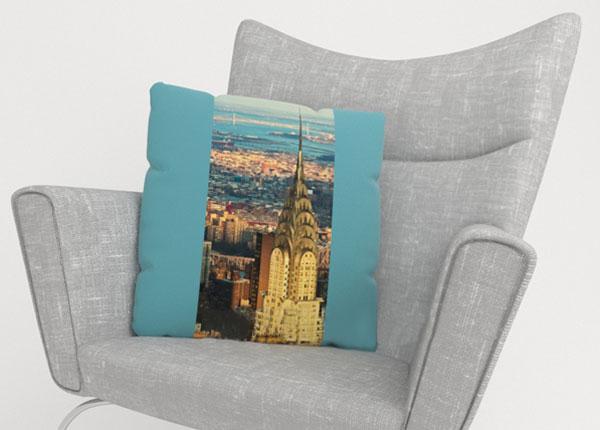 Dekoratiivpadjapüür Chrysler Building 40x40 cm ED-123639