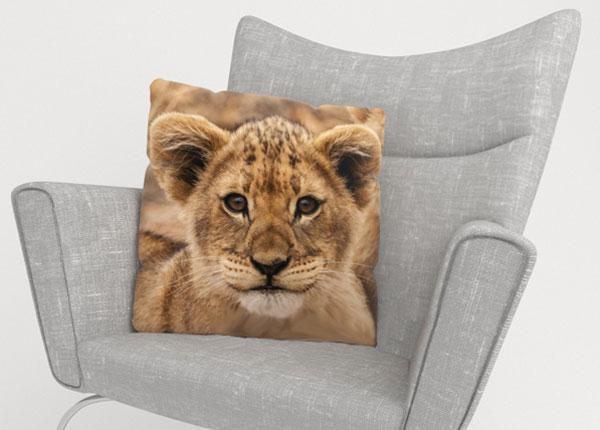 Dekoratiivpadjapüür Cute lion 45x45 cm ED-123667