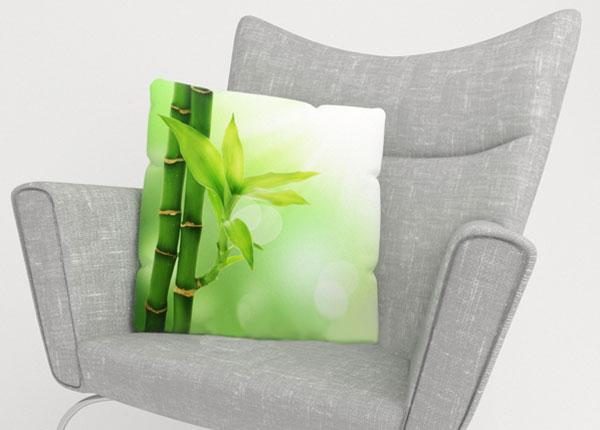Dekoratiivpadjapüür Green Bamboo 40x40 cm ED-123869