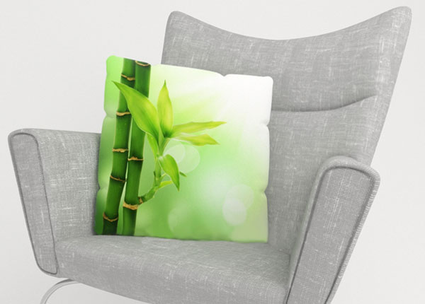 Dekoratiivpadjapüür Green Bamboo 50x50 cm ED-123872
