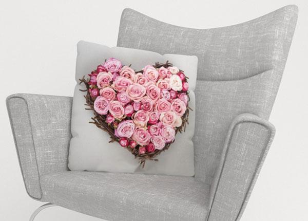 Dekoratiivpadjapüür Heart of Love 45x45 cm ED-123878