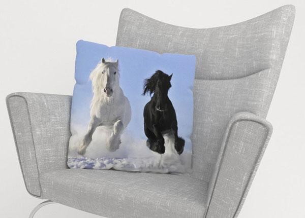 Dekoratiivpadjapüür Horses 40x40 cm ED-123963