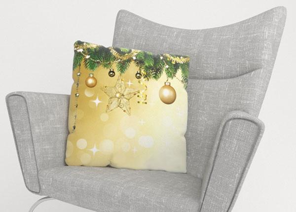 Dekoratiivpadjapüür New Year's Shine 50x50 cm ED-124005