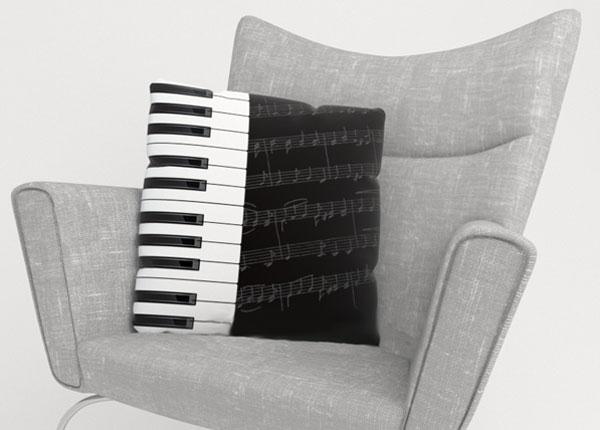 Dekoratiivpadjapüür Piano Keys 40x40 cm ED-124198