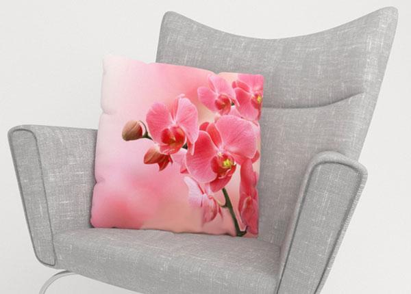 Dekoratiivpadjapüür Pink Orchids 40x40 cm ED-124217