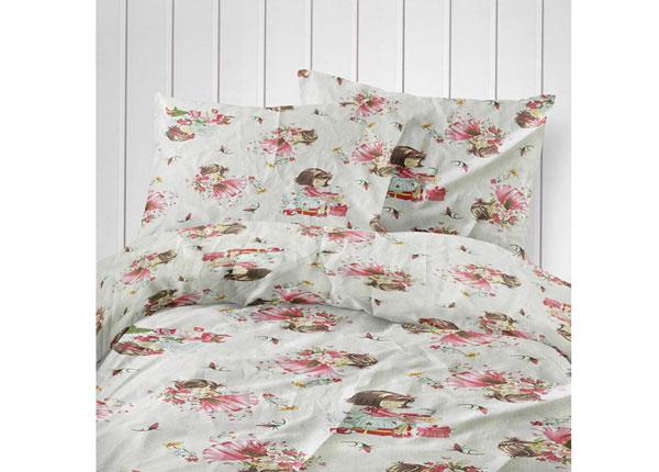 Laste voodipesukomplekt Pink Girl 100x120 cm VO-124226