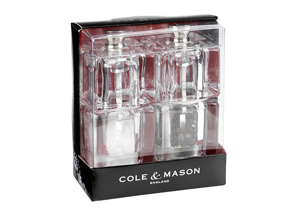 Soola- ja pipraveski komplekt Mini Cube AS-124293