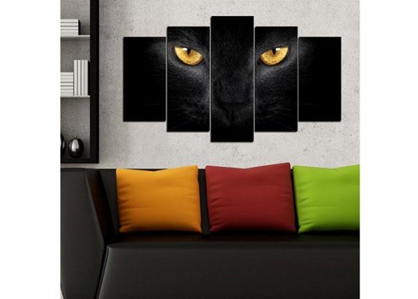 Viieosaline seinapilt Cats 100x60 cm ED-124459