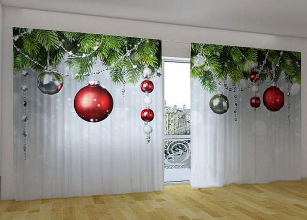 Poolpimendav kardin Christmas Decorations 360x230 cm ED-124662