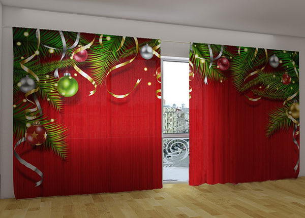 Poolpimendav kardin Christmas magic 360x230 cm ED-124664