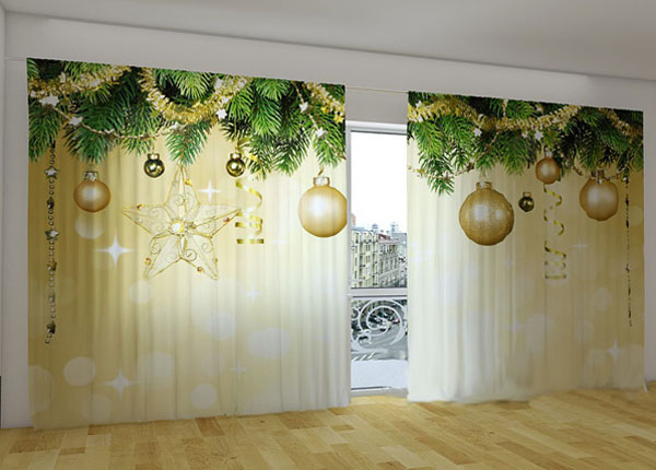 Poolpimendav kardin Golden Shine 360x230 cm ED-124670