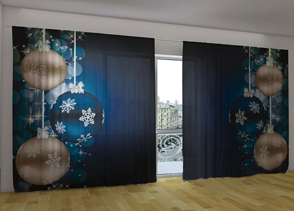 Poolpimendav kardin New Year Shine 360x230 cm ED-124674