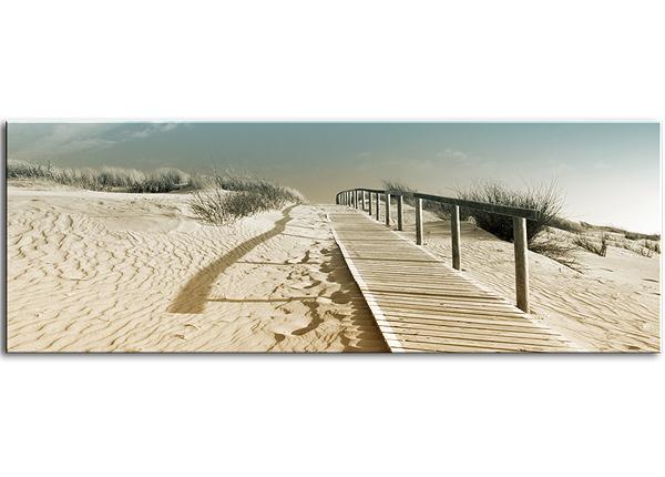 Klaaspilt Harmony Dunes 125x50 cm QA-124762