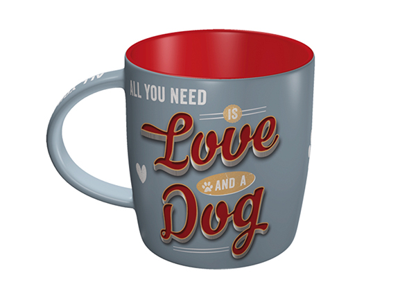 Kruus All you need is Love and a Dog SG-125895