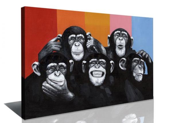 Seinapilt Monkeys 80x60 cm ED-126291
