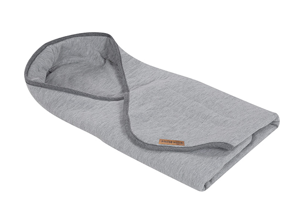 Mähkimistekk Grey Melange 108x95 cm LC-127334
