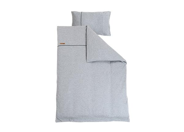 Voodipesukomplekt Grey Melange 100x140 cm LC-127360