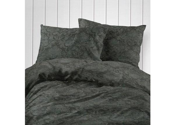 Puuvillasatiinist voodipesukomplekt 2 tekikotiga 150x210 cm VO-127662